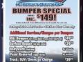 MAACO Bumper Specials