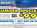 MAACO Special coupon